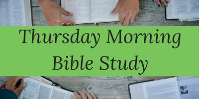 Thursday Morning Bible Study 1